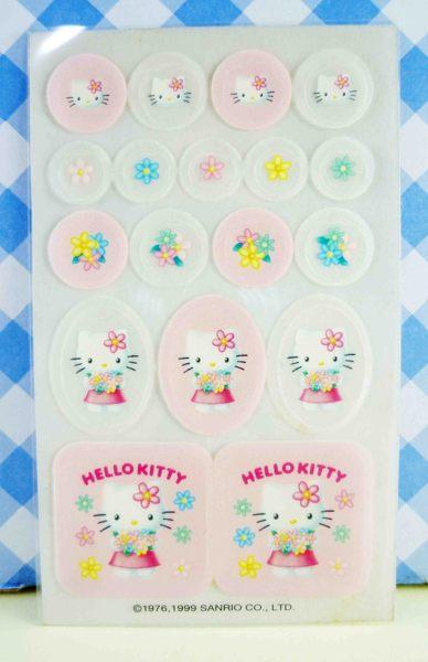 【震撼精品百貨】Hello Kitty 凱蒂貓~KITTY貼紙-香水貼紙-捧花