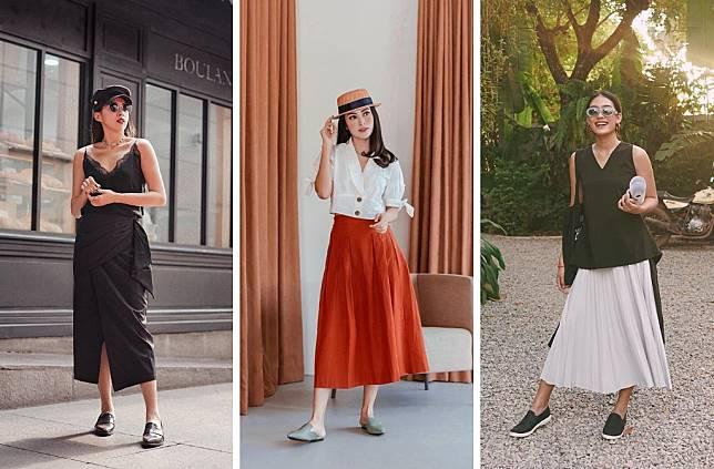 Tampilan Chic dan Girly dengan Midi Skirt ala Influencer Indonesia yang Wajib Dicoba!