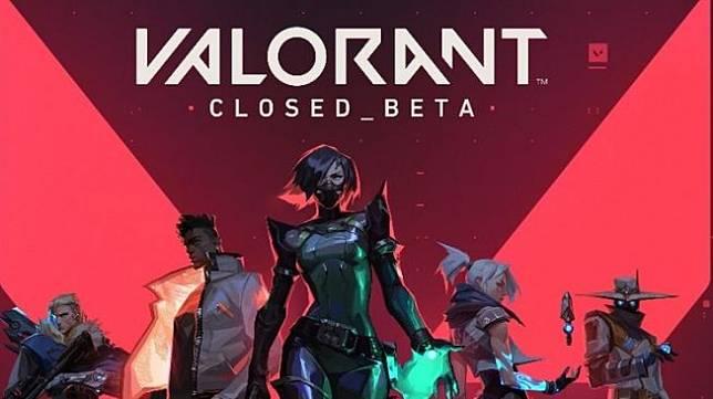 Poster game Valorant dari Riot Games.Penantang Counter Strike ini akan tersedia mulai 2 Juni, [Twitter/Valorant]