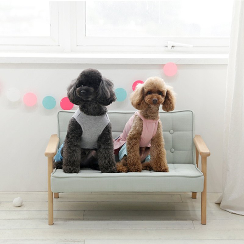 ➤ 韓國原創設計款 寵物沙發床L款 ➤ 柔軟厚實坐墊 給毛孩舒適休息 ➤ 實木椅架 結構穩定、耐用度高