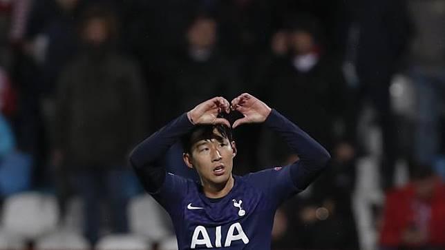 Son Heung-min 2 Gol, Tottenham Hotspur Lumat Red Star Belgrade