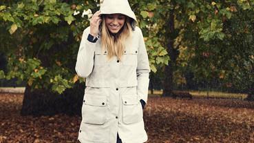 擁有英國百年血統的防水風衣 Barbour 推出冬季女裝系列