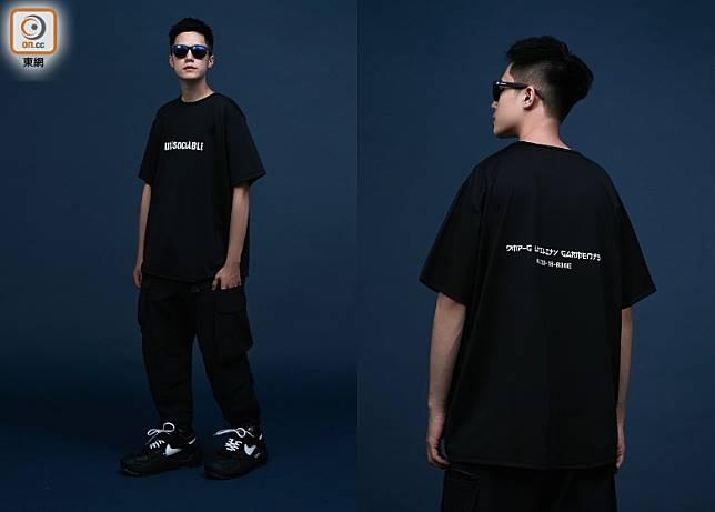 WR-04「UN)SOCIABLE」Logo T-Shirt in Black(互聯網)