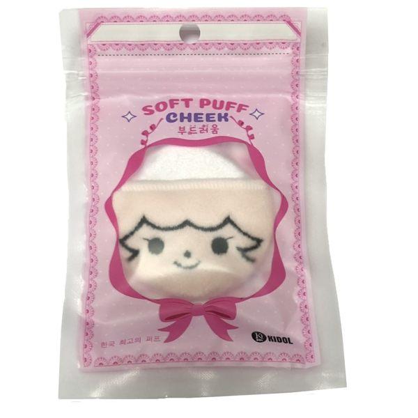 KIDOL 韓國甜心萌娃手套式粉撲 - 大 8-0081