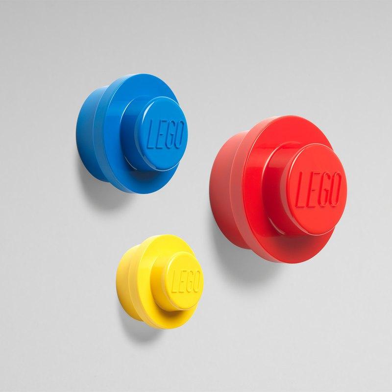 樂高積木零件搖身變成掛勾 圓潤簡約設計,增添空間趣味