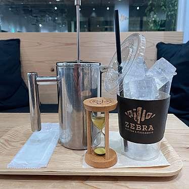 ゼブラ コーヒーアンドクロワッサン 横浜店のundefinedに実際訪問訪問したユーザーunknownさんが新しく投稿した新着口コミの写真