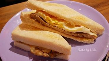 【大安區早餐推薦】集結號 肉蛋吐司早午餐店 推香腸沙拉熱狗堡│Foodpanda外送早餐第一名 跟著Livia享受人生