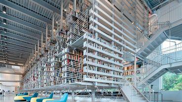 徜徉於百年懸浮書籍之海,紐約康乃爾大學梅霍藝術圖書館嶄新落成