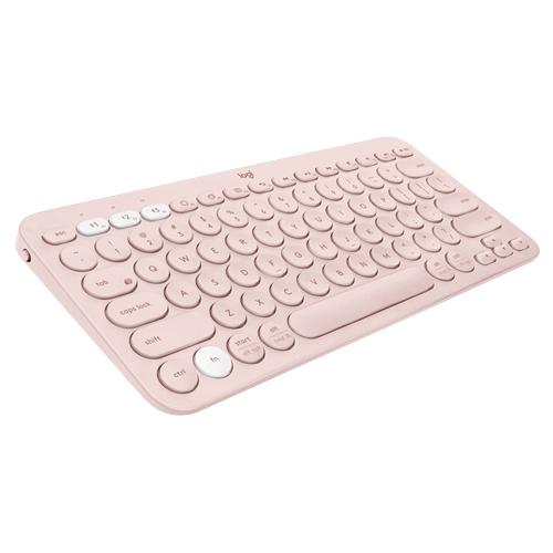 羅技 玫瑰粉/K380多工藍芽鍵盤