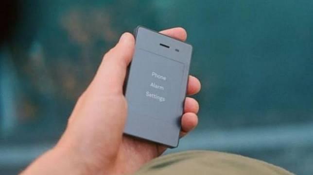 Ponsel sederhana Light Phone 2. (TheLightPhone.com)
