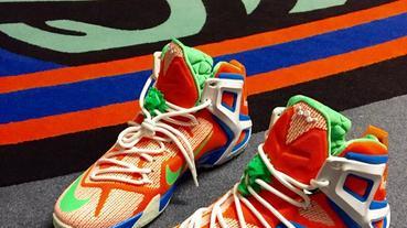 新聞速報 / WNBA 選手 Candice Wiggins 的 Nike LeBron 12 Elite 球員版配色
