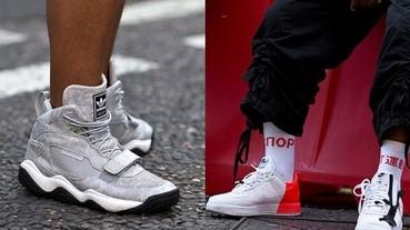倫敦時裝週場外的最佳運動鞋穿搭