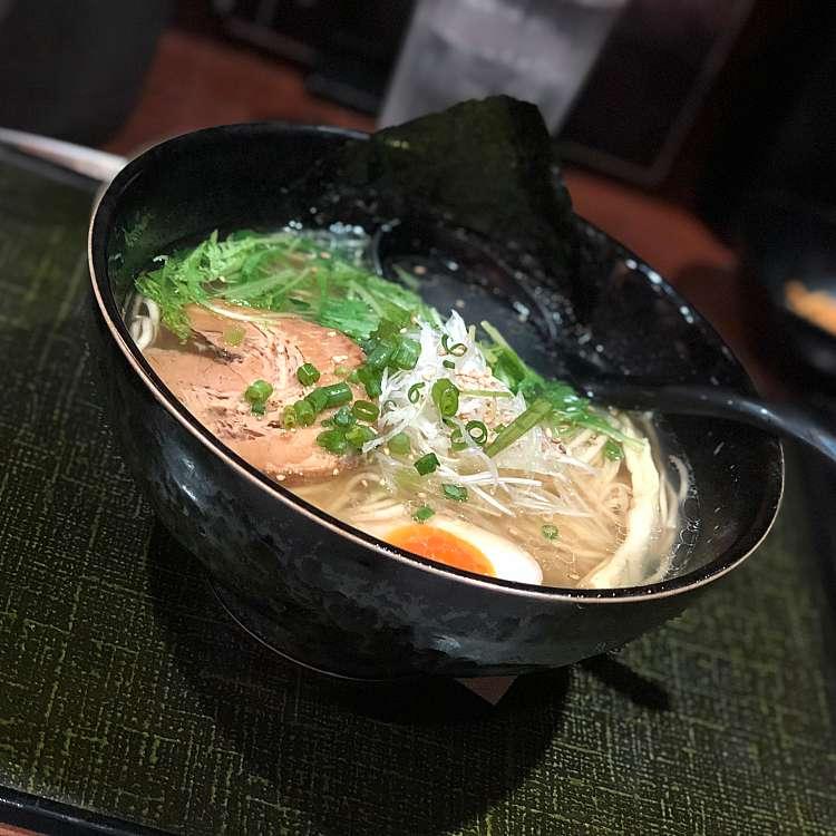 ユーザーが投稿した極旨 塩ラーメンの写真 - 実際訪問したユーザーが直接撮影して投稿した歌舞伎町ラーメン専門店麺匠 竹虎 本店の写真