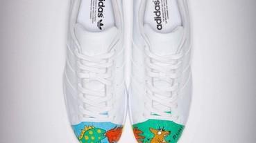 adidas Originals Superstar X superstar 公益創作翻玩經典鞋款 攜手為台灣藝術發聲