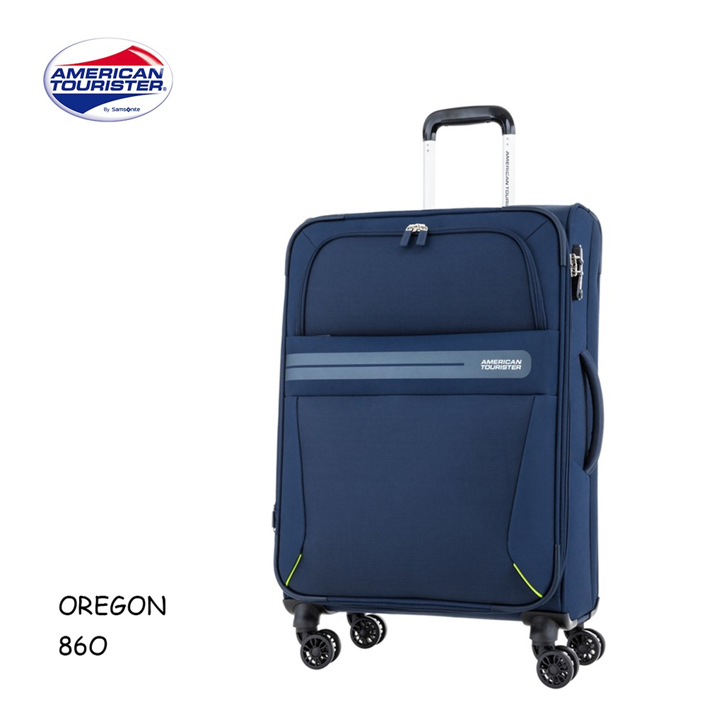 AT 美國旅行者 [OREGON 86O] 24吋行李箱 商務旅行 可擴充 輕量 大容量 附西裝套&衣架 +好禮