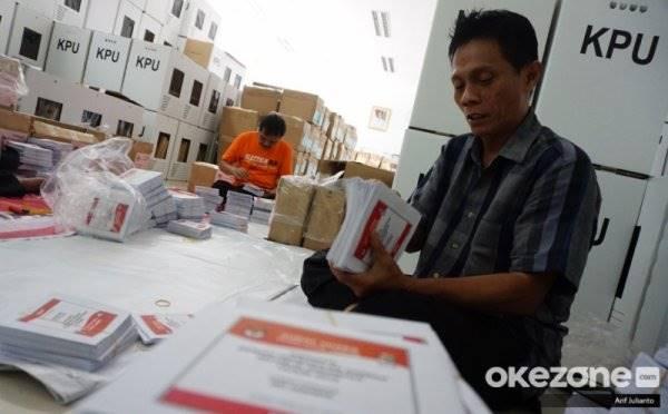 10 Kotak Surat Suara Pemilu di Pesisir Selatan Sumbar Terbakar
