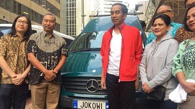 Bikin Pelat Nomor Betuliskan 'Jokowi', Dua WNI Ini Habiskan Biaya Segini