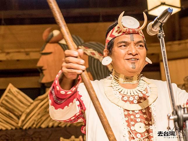 太魯閣山月村99%員工都是原住民,每個晚上都有原住民的傳統表演。