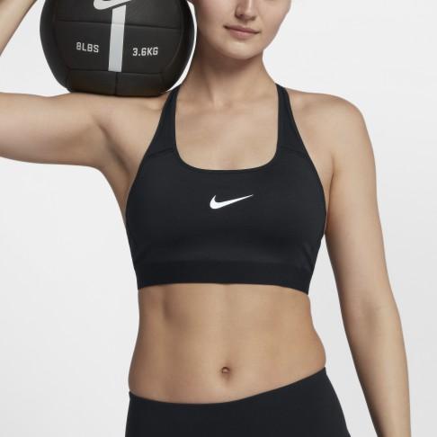 導濕速乾,穿著舒適Nike Classic Strappy 女子中度支撐運動內衣採用導濕速乾物料及加壓設計製成,助你訓練時保持乾爽舒適,同時有效承托。優點1.Dri-FIT 技術有助保持乾爽舒適2.綁