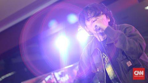 Vokalis Deadsquad, Daniel, mengaku mengonsumsi narkoba karena stres. (Foto: UNIKOLOGI.COM Indonesia/Bisma Septalisma)