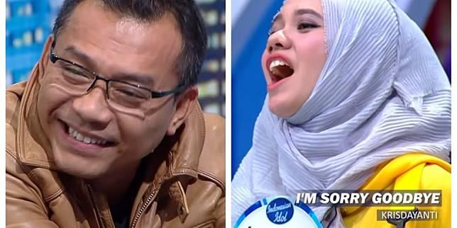 Bidik layar YouTube Indonesian Idol