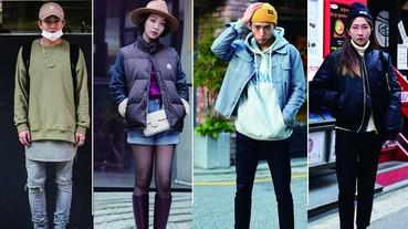 晚上約會想戴「帽子」到底該怎麼搭?韓國街拍教你應付各種帽款!