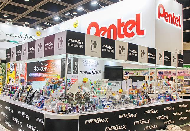 以上幾款產品可在Pentel攤位找到。