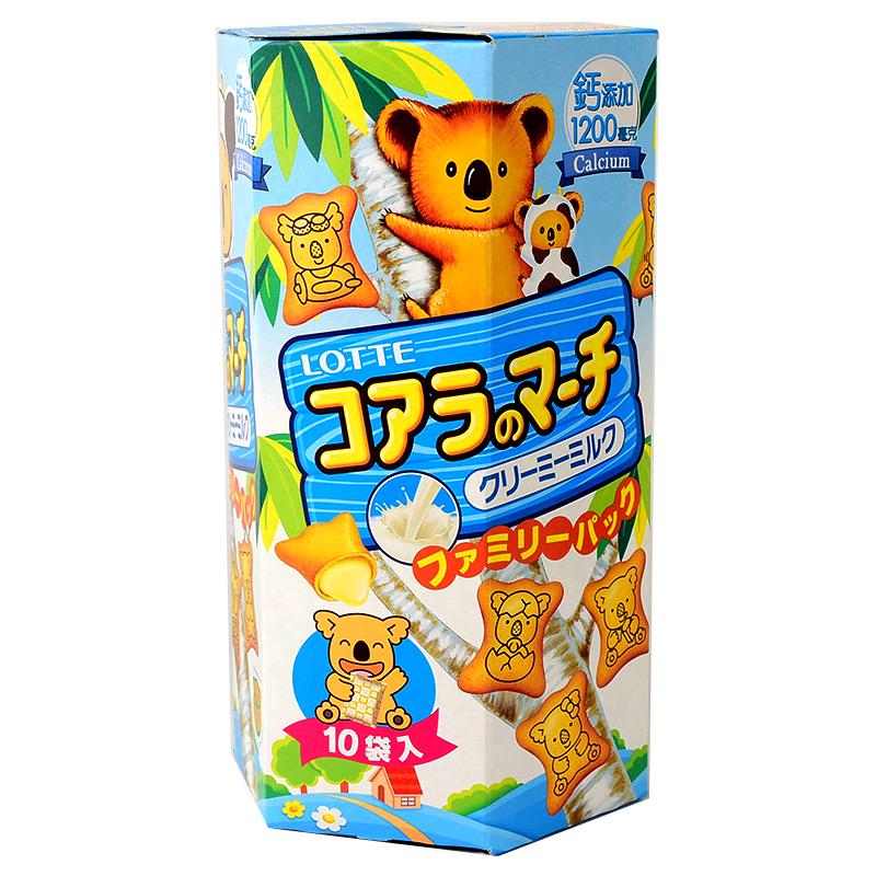 樂天小熊餅乾家庭號-牛奶風味