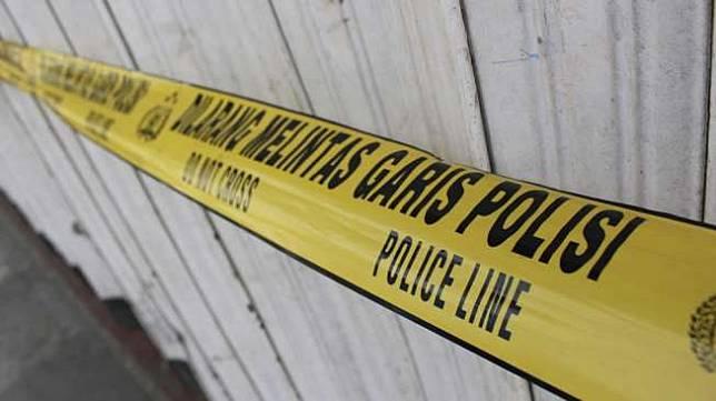 Ilustrasi garis polisi, TKP tindak kejahatan. [Shutterstock]
