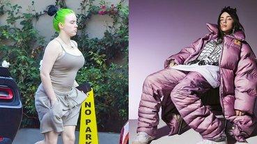 酸民攻擊 Billie Eilish 最新街拍身材大走樣,歌迷霸氣回嗆:「除了待在外面的白痴,今年誰沒變胖?」