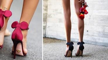 媽呀~這雙鞋也太可愛了,「米妮高跟鞋」席捲IG
