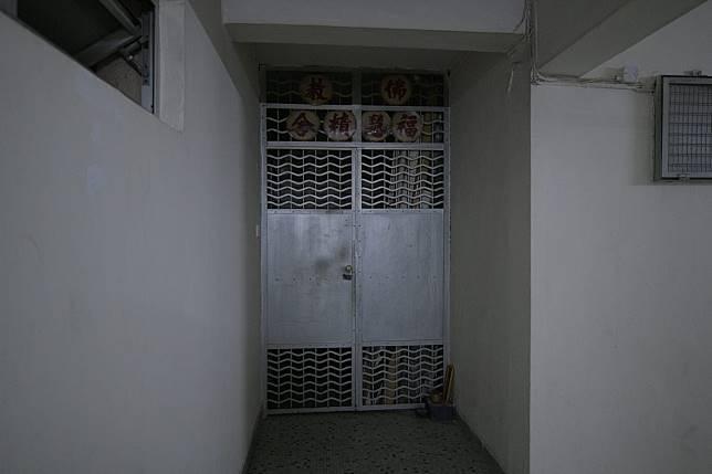 北角書局街美輪大廈内的「福慧精舍」佛堂。