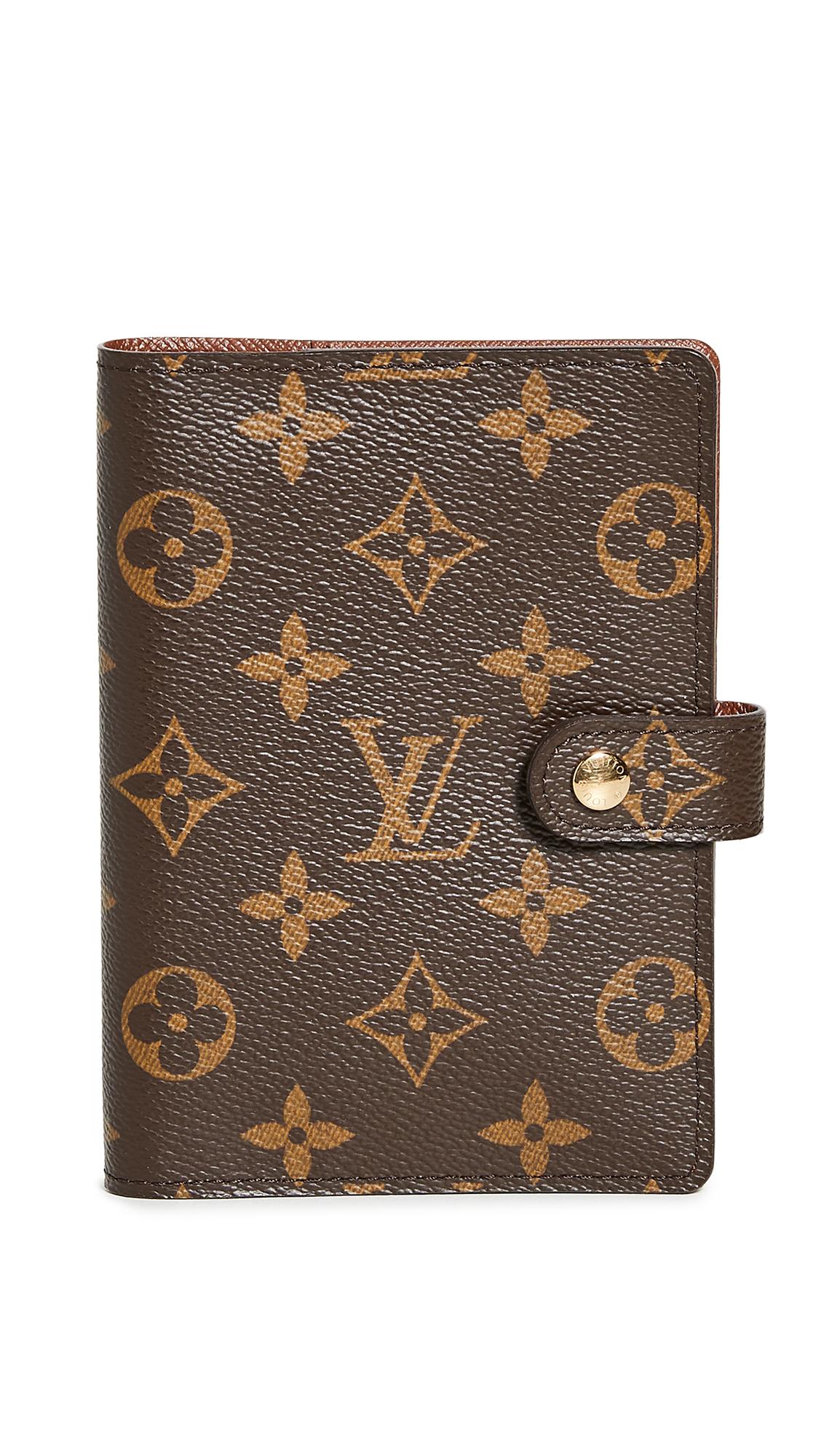 Shopbop Archive Louis Vuitton Agenda Pm Monogram Wallet