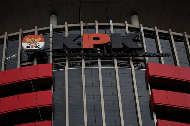 The Corruption Eradication Commission (KPK) building in Jakarta.