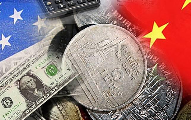 US-dollar-บาท-สงครามการค้า