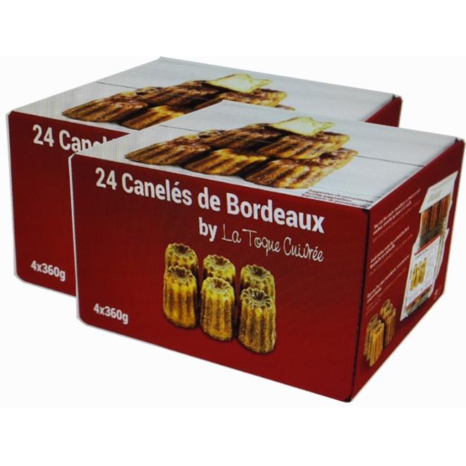 Caneles De Bordeaux 冷凍法式經典波爾多可麗露 60公克 X 24入兩入裝 W122565