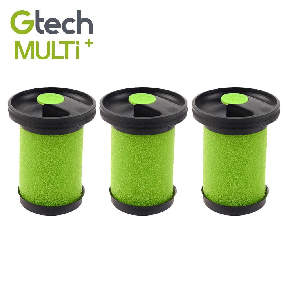 英國 Gtech 小綠 Multi Plus 原廠專用寵物版濾心-3入組 (送香氛棒18支)