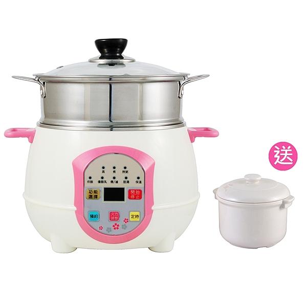 新世代電鍋,外型時尚,功能強大。n自動烹調程式設定,新手也能做出好料理。
