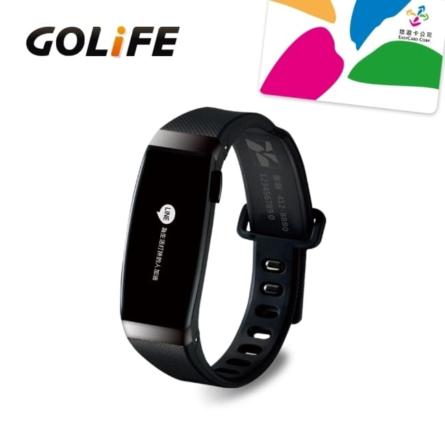 GOLiFE Care-X 智慧悠遊手環-黑色