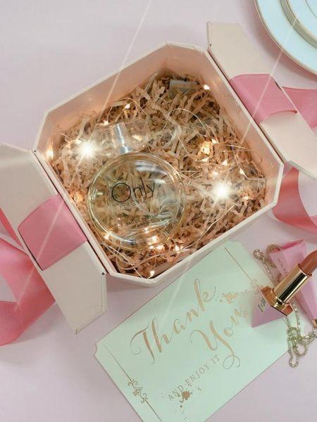 禮品盒子精美空盒禮物盒子小號口紅禮盒包裝盒ins大號韓版簡約