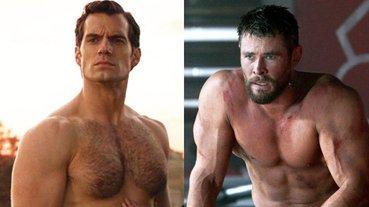 大力士將開拍真人版?「雷神」克里斯漢斯沃、「超人」亨利卡維爾,誰的肌肉才能扛起這個角色?