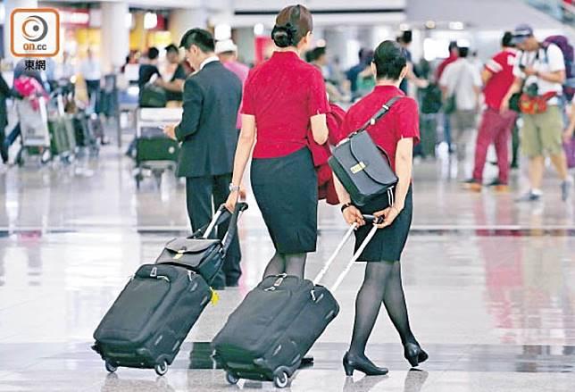 國泰工會呼籲會員上班前衡量安全情況。