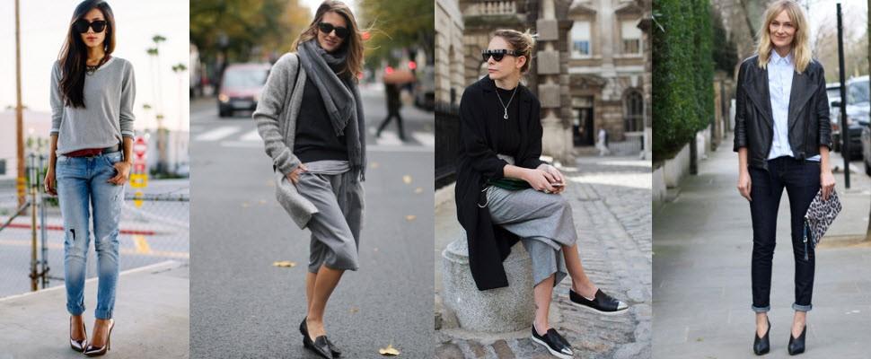 今年秋冬就用「尖頭鞋」添增妳的女人味吧~