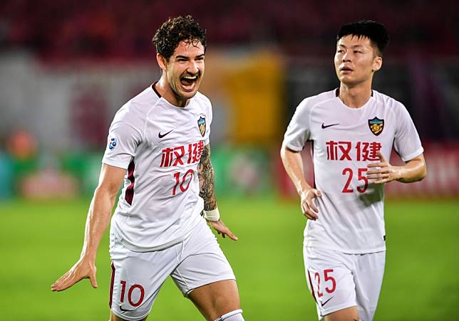 Alexandre Pato leaving, stadium signs dragged down, club name changed - owner's arrest sees Tianjin Quanjian airbrush history