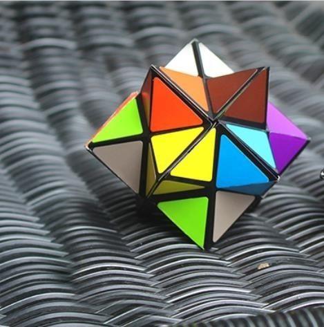 魔方玩藝MAGIC CUBE百變無限魔方減壓益智解壓神器口袋創意魔方塊玩具全館免運 玫瑰