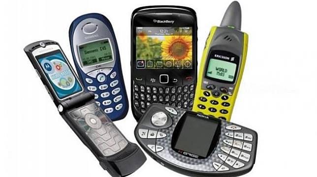 Beragam ponsel jadul. (Hitekno.com)
