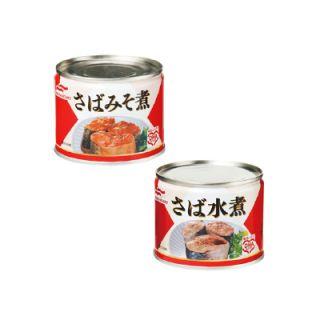 さば水煮/さばみそ煮(6号)