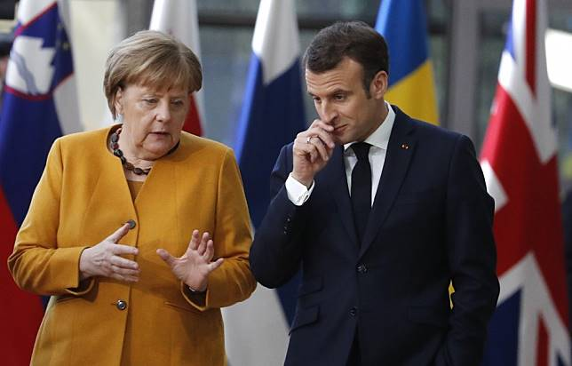 France's Macron asks Merkel and Juncker to join meeting with Xi Jinping in Paris