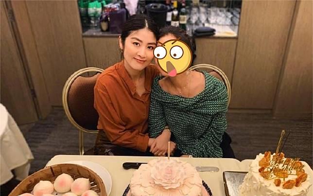 ▲鍾楚紅(右)與陳慧琳(左)。(圖/翻攝鍾楚紅微博)