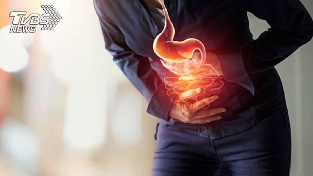 專家分析「變形胃」的形成與生活壞習慣有關。示意圖/TVBS